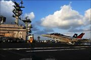 Poster, Many Sizes Fa-18 Hornet Aboard The Aircraft Carrier Uss Ronald Reagan