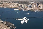 Poster, Many Sizes Fa-18c Hornet F-18 Naval Air Station North Island San Diego