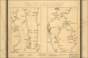 Poster, Many Sizes Map Of New York City To New Rochelle 1789