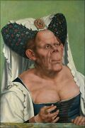Poster Many Sizes Ugly Duchess A Grotesque Old Woman By Quentin Matsys