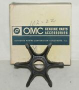 New Omc Outboard Marine Corp Boat Impeller Part No. 382547