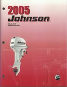 Johnson Outboards 2005 2 Stroke 3.5 6 8 Hp Models Service Manual P/n 5005962