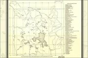 Poster Many Sizes Map Of Yellowstone National Park Hot Springs 1937