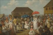 Poster Many Sizes Linen Market Dominica By Agostino Brunias 1780