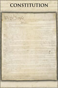 Poster, Many Sizes Constitution Of The United States