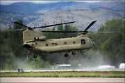 Poster Many Sizes Colorado Army National Guard Ch-47 Chinook Helicopter 2nd Bt
