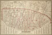 Poster, Many Sizes Map Of City Of St. Louis Missouri 1870
