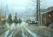 Too Wet To Plow - G Harvey -sign And Number Ltd. Ed Print -gallery Stock