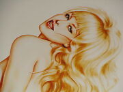 Olivia De Berardinis Angel Eyes Limited Edition Signed And Numbered 14/75