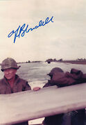 Green Beret, Cia Cold War, Wwii, Korea, Vietnam, Anthony Blandell Signed Photo