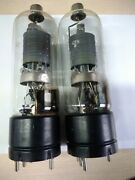 Nos 2pcs Military Gke-100 Direct Heat Tube Andasymp Ad1andasymp Gm70andasymp Gk71andasymp 300bandasymp 45andasymp 2a3