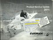 Evinrude Outboards E-tec 2011 Product Service Update Booklet P/n 5008496