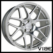 20 Ace Mesh-7 Hypersilver Concave Wheels Rims Fits Tesla Model S