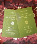 Sotheby The Collection Of Ancient And Later Coins 2 Vols. Greek Coins John Ward