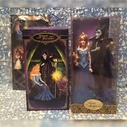 New Disney Aurora And Maleficent Fairytale Designer Doll Set Limited Le Beauty