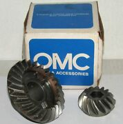 New Omc Outboard Marine Corp Boat Matched Gear Set Part No. 986655