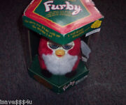 New Sealed In Box Retired Santa Furby Interactive Christmas Furby Sings Dances