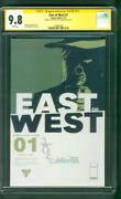 East Of West 1 Cgc Ss 9.8 Nick Dragotta Signed And Sketched 3/13