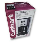 Cuisinart Brew Central 12-cup Programmable Coffee Maker With Brushed Metal Trim