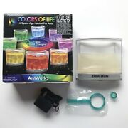 Fascinations Antworks Colors Of Life Habitat For Ants Farm Led Light Homeschool