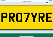 Pr0 7yre Private Number Plate