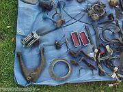 Alot Of Assorted 1970and039s Fiat Car Parts