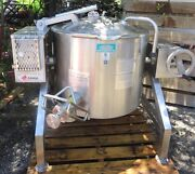 2009 Legion Tlgb-20 Tilting Kettle 20 Gallon Gas-fire Self Contained