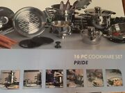 Brand New Berghoff Pride 16 Pc Cookware Set 1116525 Cookware