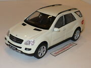 Welly Mercedes Benz Ml350 Crossover 124 Off White Very Hard To Find Free Ship