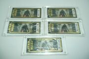 Star Wars Tickets Lot Of 5 Galaxy Premiere Limited Edition Special Numbered Case
