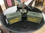 2-pack 50 Cal M2a1 Ammo Can Very Good Condition Free Shipping