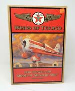 Wings Of Texaco 1930 Travel Air Model R Mystery Ship Dime Bank 5th In Series R