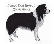 Jumbo Dog Breeds Collection 2 - Machine Embroidery Designs On Cd Or Usb