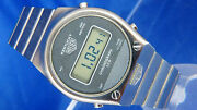 Vintage Heuer Kentucky Digital Lcd Watch 1970s Perfect Working Good Condition