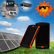 Solar Charger Bank Led Flashlight 23000mah Rechargeable Solar Battery For Laptop