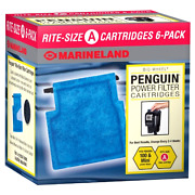 2-pack Marineland Penguin Power Filter Cartridge Rite-size A6count