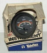 New Teleflex Marine Boat Oil Temperature Xl Line Instrument Part No. I.g. 75029