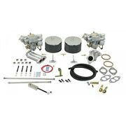 Empi Deluxe Dual 40mm Carb Kit W/empi Twist Linkage Type 1