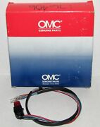 New Omc Outboard Marine Corp Boat Switch And Lead Assembly Part No. 176406