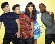 New Girl Signed Zooey Deschanel 8x10 Photo Picture Poster Autograph Rp