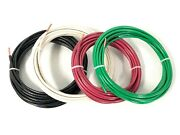 145' Feet Ea Thhn Thwn-2 8 Awg Gauge Red Black Green White Copper Building Wire