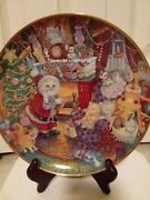 Franklin Mint Cat Collector Plates By Bill Bell Set Of 12