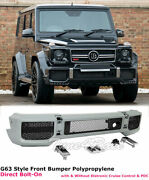 For 13-17 Mercedes Benz G63 G65 Amg Style W463 Front Bumper Kit Bolt-on B Style