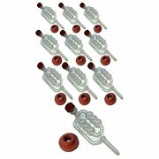 Bubbler Airlocks And Grommets. Air Locks For Bucket Fermenters Beer Wine Cider