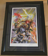 Guardians Of The Galaxy Framed Movie Comic Poster By Alex Ross /250 Stout Gabz