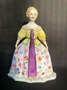 Unique B.pierry French Porcelain Doll / Figurine . With Marks And Signature