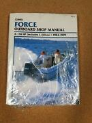 Clymer Force Outboard Shop Manual 1984-1999 4-150hp Includes L-drives No. B751-4