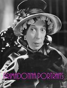 Edna May Oliver 8x10 Lab Photo 1930s Motherly Actress Hat Period Piece Costume
