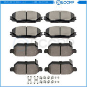 Front And Rear Brake Ceramic Pads For Scion Xb 2008 2009 2010- 2015 Performance