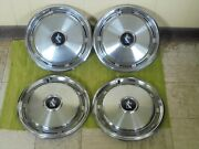 Take Offs 75 76 77 Buick Hubcaps 15 Set 4 Wheel Covers 1975 1976 1977 Hub Caps